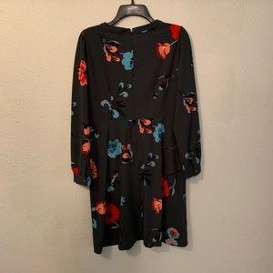 LOFT Dresses - Loft floral pattern long sleeve dress